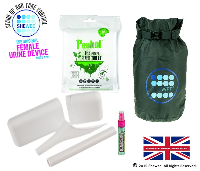 She Can Pee Pack – White – Survival Pack